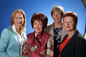 Kirstin Garb, Barbara Schader, Christine Eberle, Ursula Cornelius